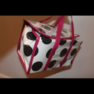 Polka Dot Makeup Bag